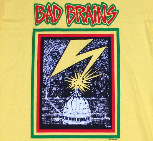Bad Brains / Capitol Tee (Yellow)