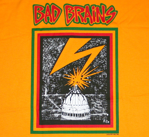 Bad Brains / Capitol Tee (Gold)