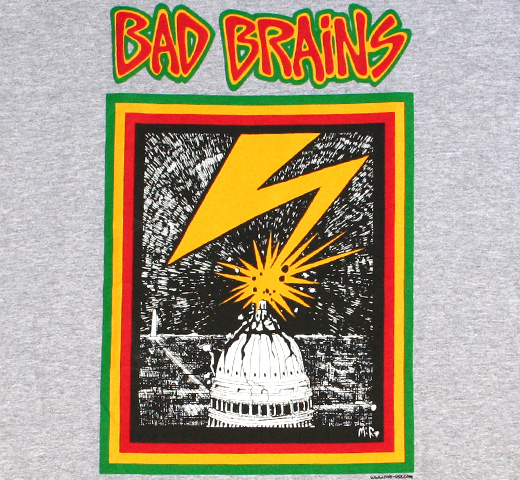 Bad Brains / Capitol Tee (Heather)