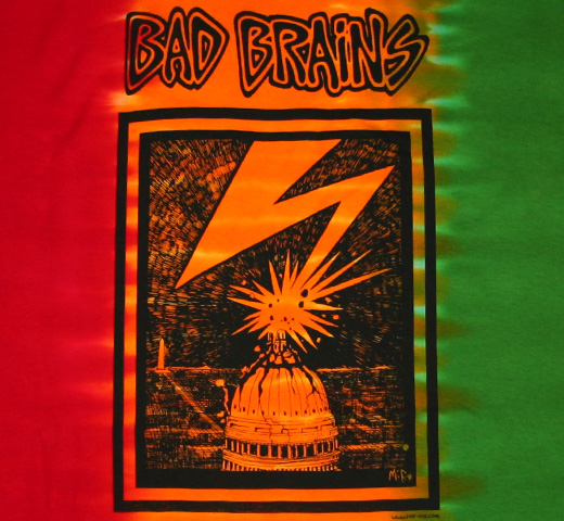 Bad Brains / Capitol Tee (Tie Dye)