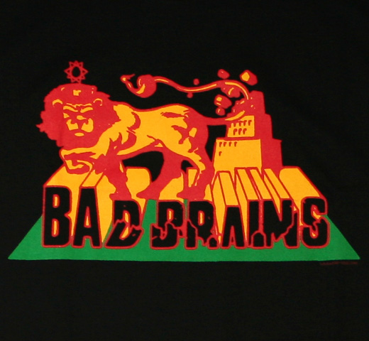 Bad Brains / Rasta Lion Tee (Black)