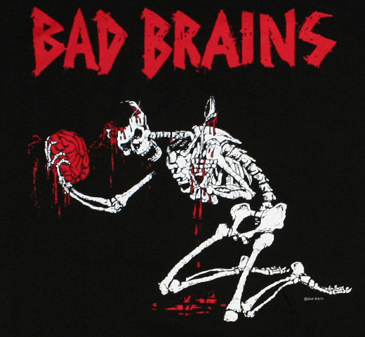 Bad Brains / Skeleton Tee (Black)