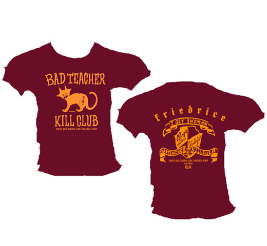 Bad Teacher Kill Club Tee (Wine Red)