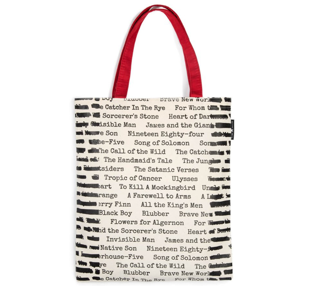 [Out of Print] Banned Books Tote Bag 2