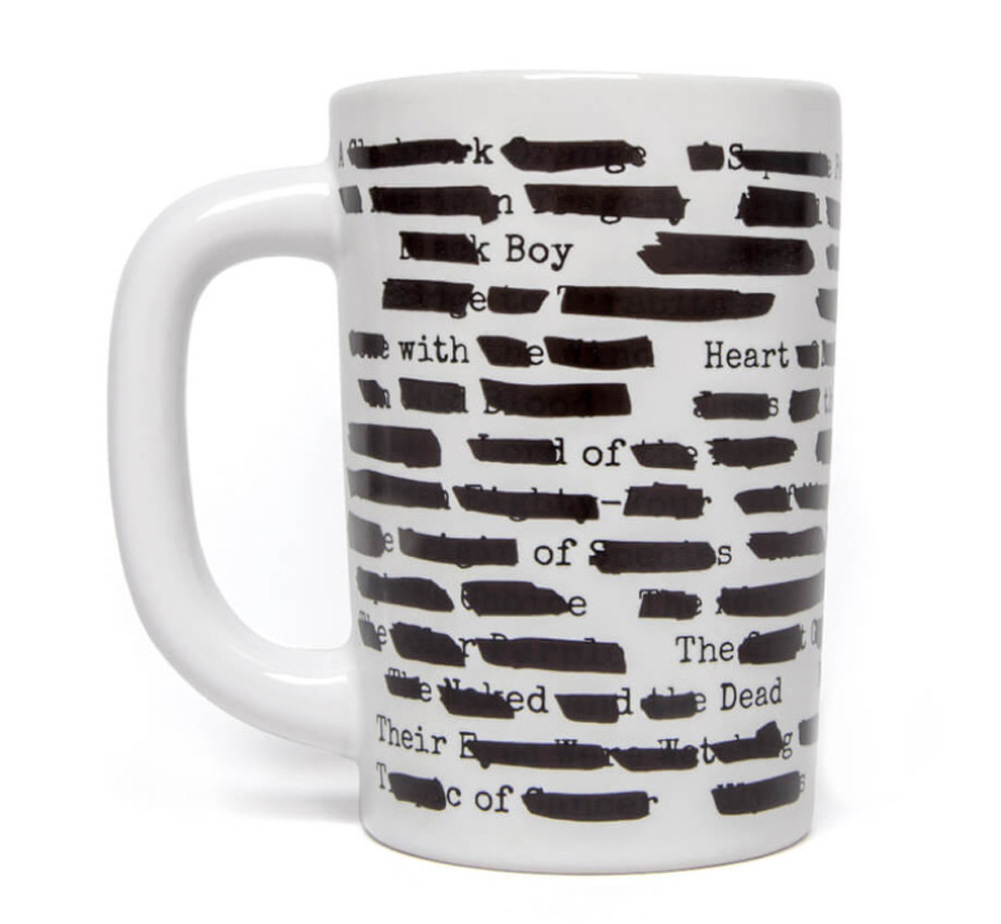 [Out of Print] Banned Books Mug (Heat Reactive)