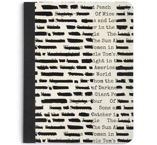 【Out of Print】 Banned Books Notebook