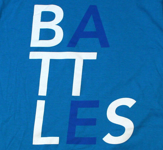 Battles / Blue Name Tee