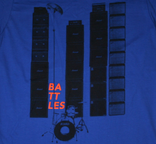 Battles / Stacks Tee (Royal Blue)