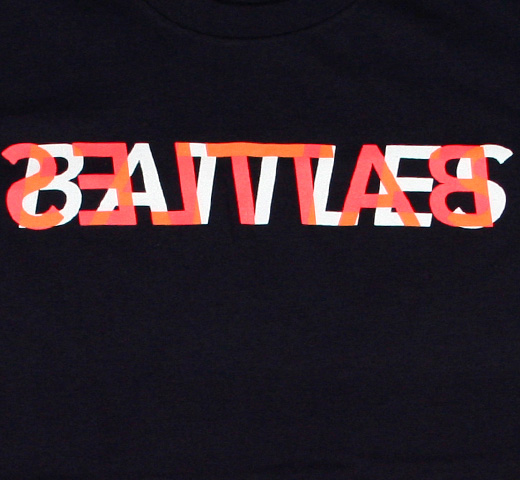Battles / Trans Tee 2 (Navy) (Ladies)