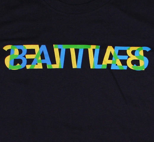 Battles / Trans Tee 1 (Navy) (Ladies)