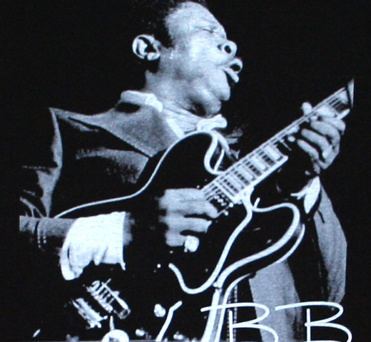 B.B. King / Playing Guitar Tee (Black)