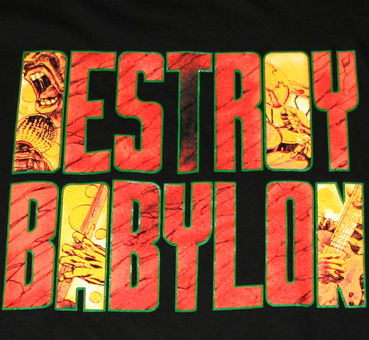 Bad Brains / Destroy Babylon Tee
