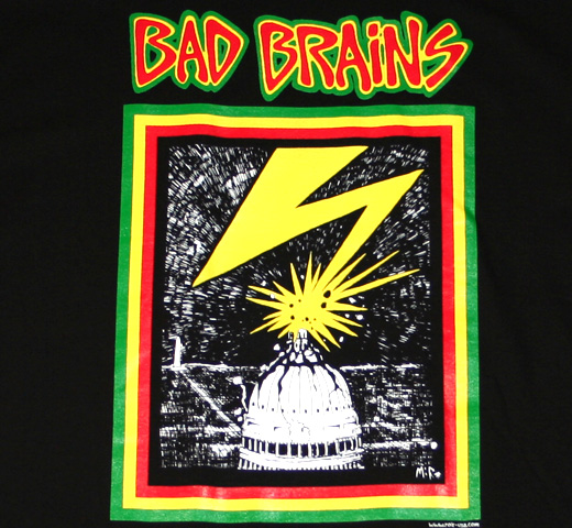 Bad Brains / Capitol Tee (Black)