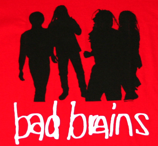 Bad Brains / Quickness Tee (Red)