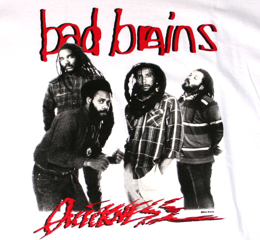 Bad Brains / Quickness Tee (White)