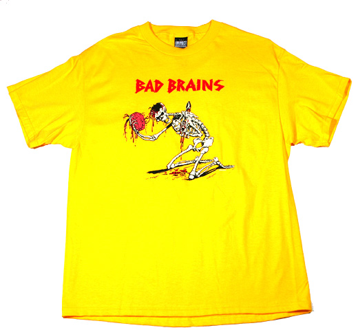 Bad Brains Skull Bad Brains / Skeleton Tee