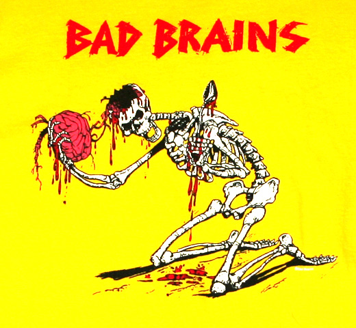 Bad Brains / Skeleton Tee (Yellow)
