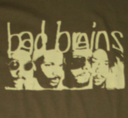 Bad Brains / Stencil Adult Tee