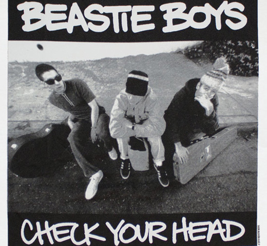 Beastie Boys / Check Your Head Tee (White)