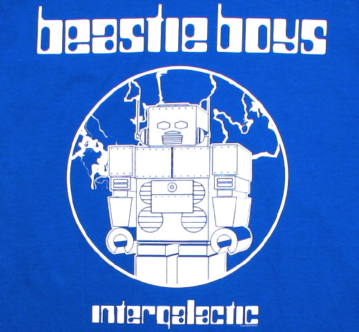 Beastie Boys / Intergalactic Tee (Royal Blue)