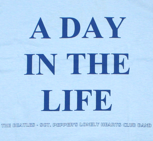 The Beatles / A Day in the Life Tee (Light Blue)