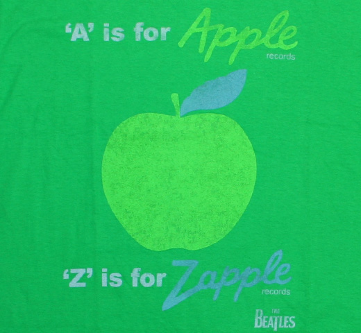 The Beatles / A is for Apple Records Tee (Kelly Green)