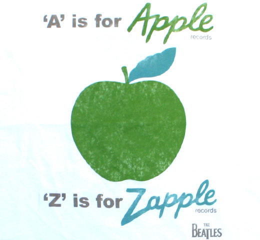 The Beatles / A is for Apple Records Tee (White)