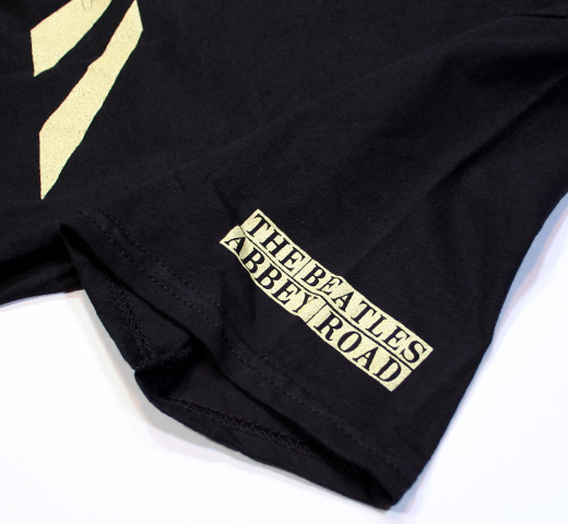 The Beatles / Abbey Road Silhouette Tee (Black)