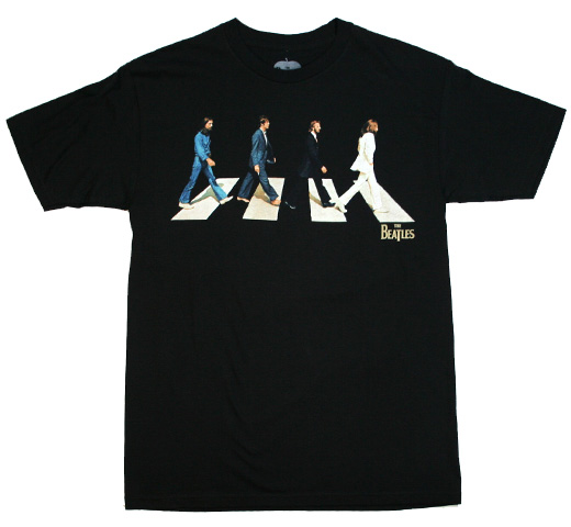 The Beatles / Abbey Road Tee 3 (Black)