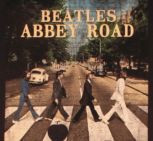 The Beatles / Abbey Road Tee 4 (Black)