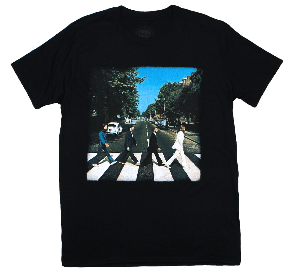 The Beatles / Abbey Road Tee 5 (Black)