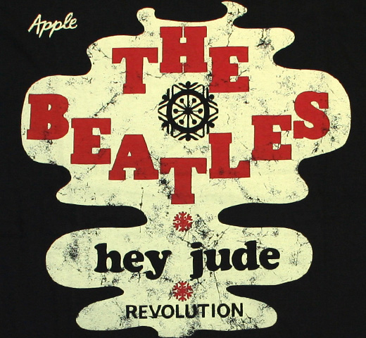 The Beatles / Hey Jude - Revolution Tee (Black)