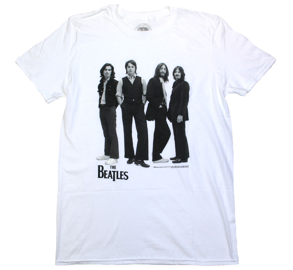 The Beatles / Iconic Image Tee (White)