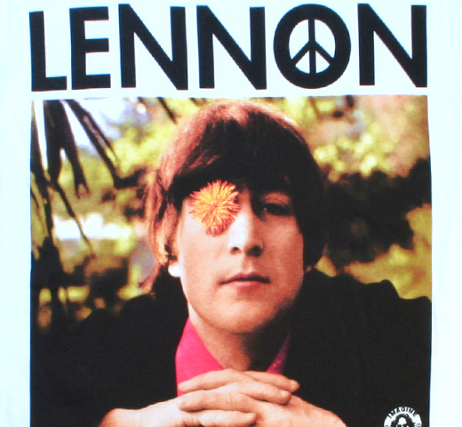 John Lennon / Flower Eye Tee (White)