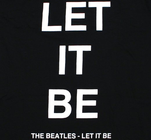 The Beatles / Let It Be Tee 3 (Black)