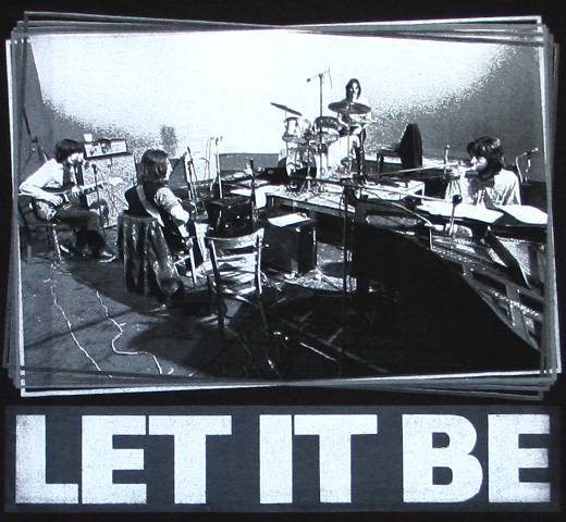 The Beatles / Let It Be Tee 2 (Black)
