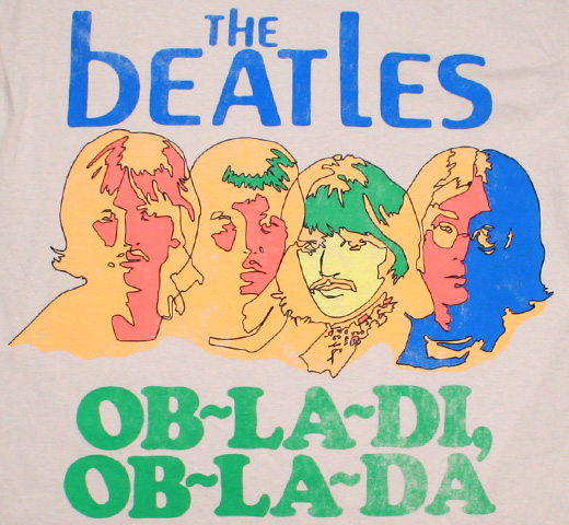 The Beatles / Ob-La-Di, Ob-La-Da Tee (Grey)