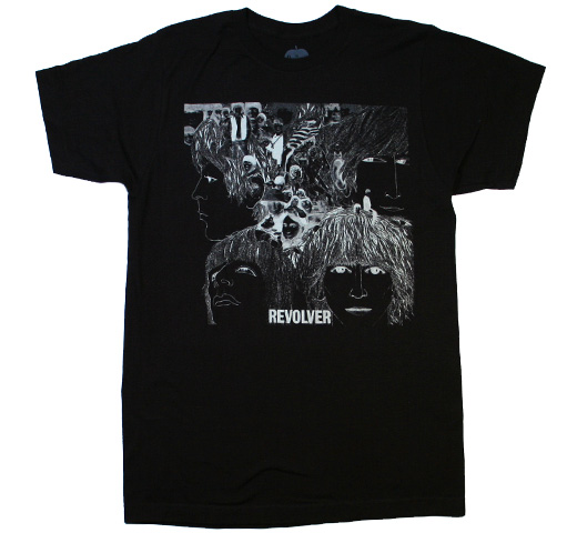 【Amplified】 The Beatles / Revolver Tee (Charcoal)