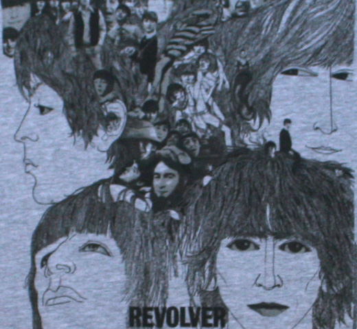 The Beatles / Revolver Tee 5 (Heather Grey)