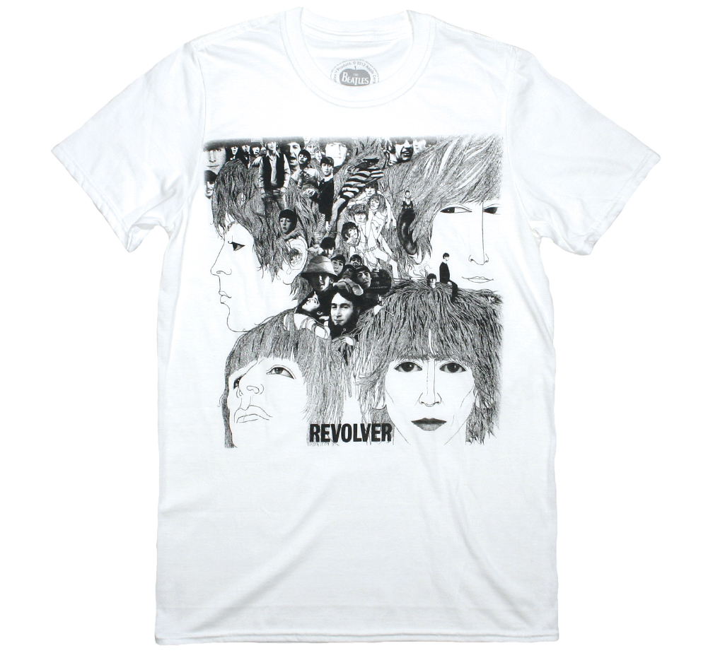 The Beatles / Revolver Tee 6 (White)