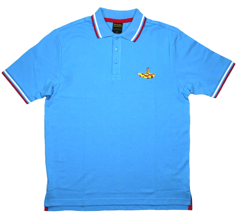 The Beatles / Yellow Submarine Polo Shirt (Light Blue)