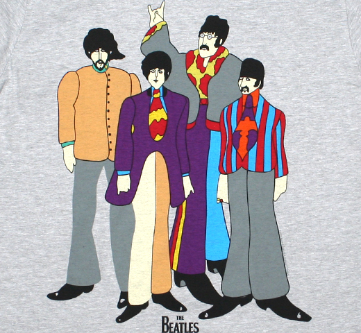 The Beatles / Yellow Submarine Tee 4 (Grey)