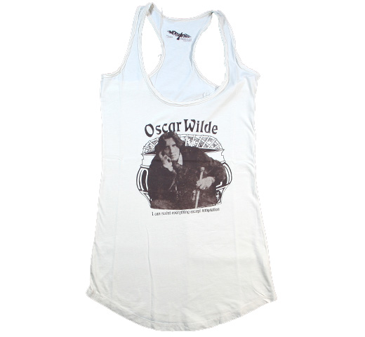 【Worn Free】 Bebe Buell / Oscar Wilde Tank Top (Cream) (Womens)