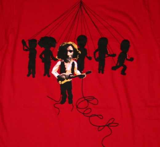 Beck / Marionette Tee (Red)  (Womens)