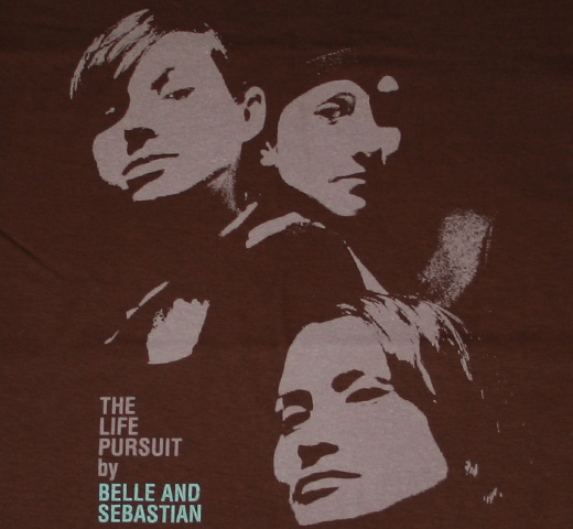 Belle & Sebastian / The Life Pursuit Tee (Brown)