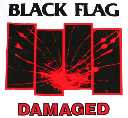 Black Flag / Damaged Tee