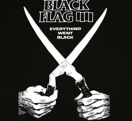 Black Flag / Everytihng Went Black Tee