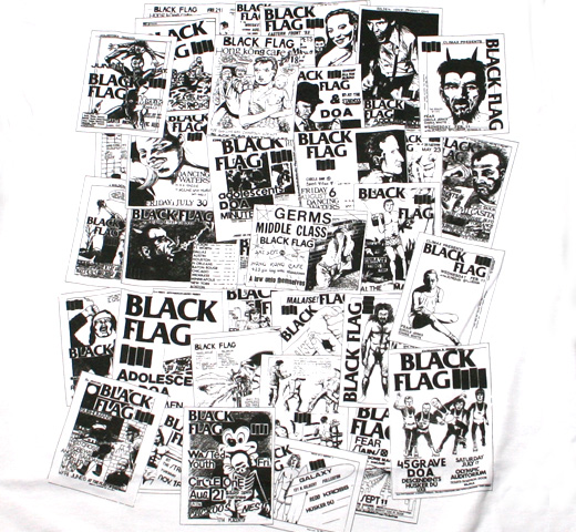 Black Flag / Flyers Tee