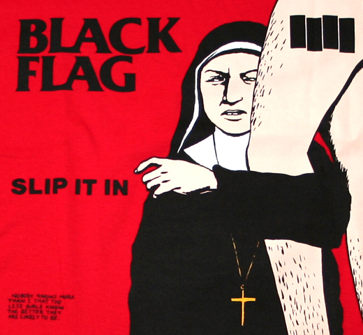 Black Flag / Slip It In Tee