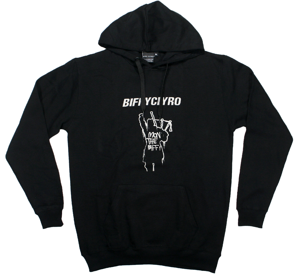 Biffy Clyro / Mon The Biff! Hoodie (Black)